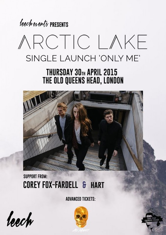 Arctic Lake. The Old Queens Head. April 30th.
