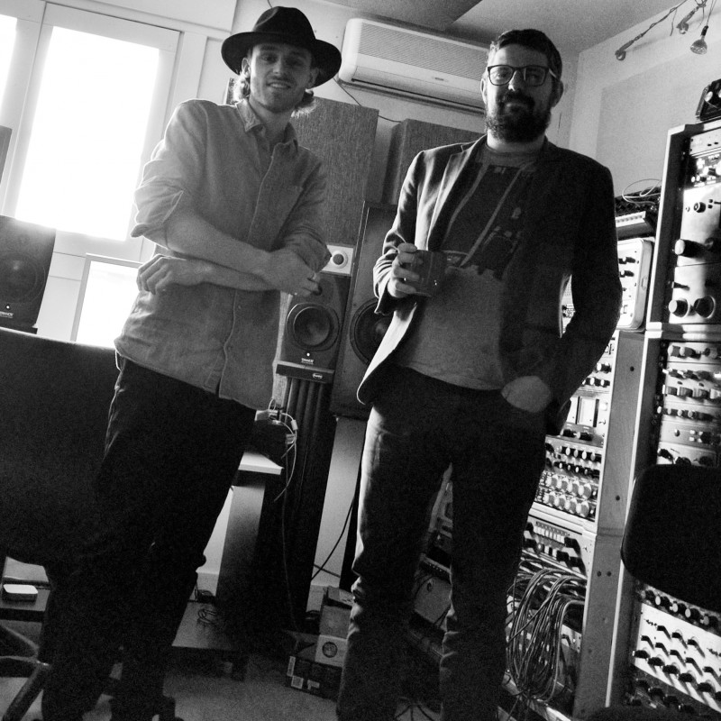 Recording with Tommaso Colliva!