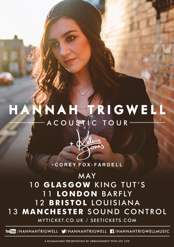 Hannah Trigwell UK Acoustic Tour