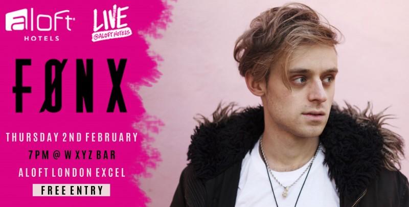 FØNX live at Aloft Hotel